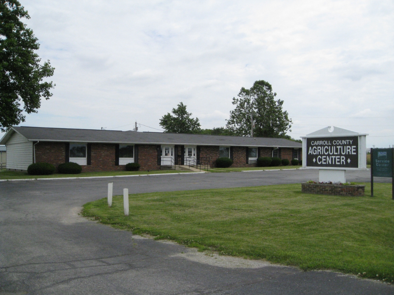 Agricultural Center in Carroll County Indiana