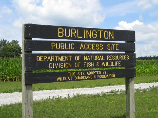 Burlington Public Access Site in Carroll County Indiana