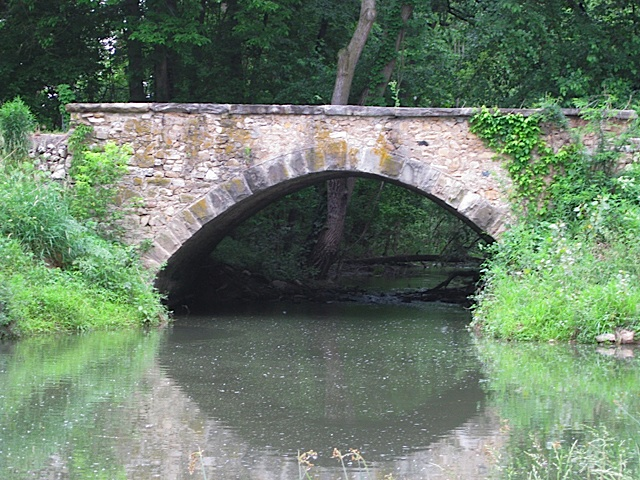 Bicycle Bridge Road Arch in Carroll County Indiana