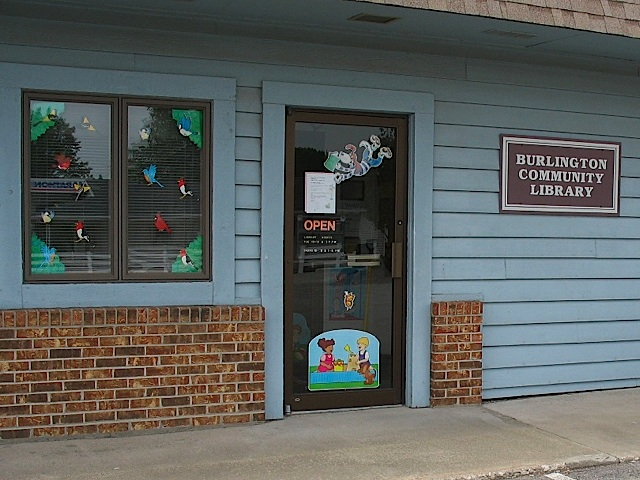 Burlington Community Library in Carroll County Indiana