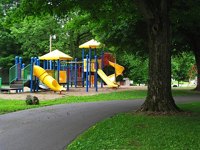 Playground at Delphi City Park