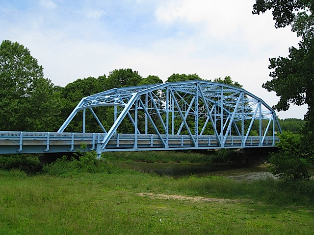 State Route 75 Bridge over Wildcat Creek in Carroll County Indiana