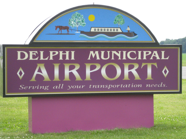 Delphi Municipal Airport in Carroll County Indiana