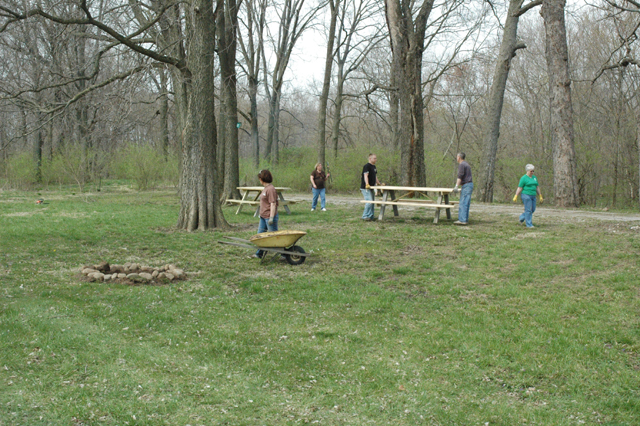 Friends of Carroll County Parks cleaning up