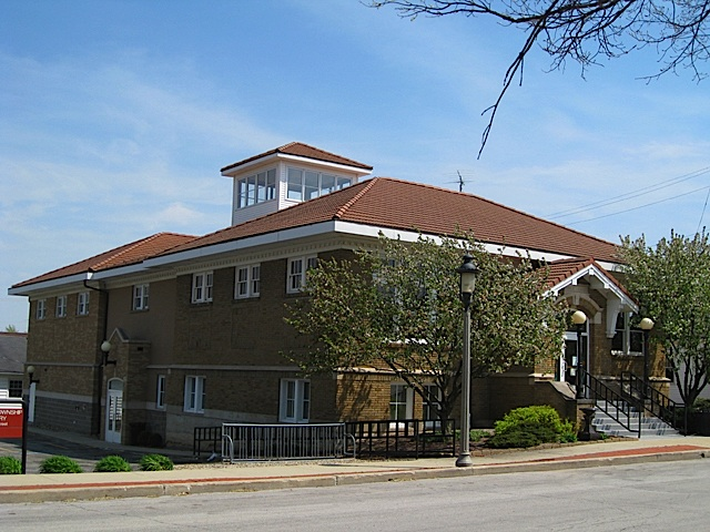 Flora-Monroe Township Public Library in Carroll County Indiana