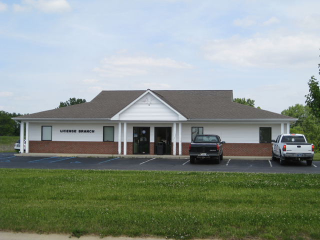 Carroll County BMV License Banch
