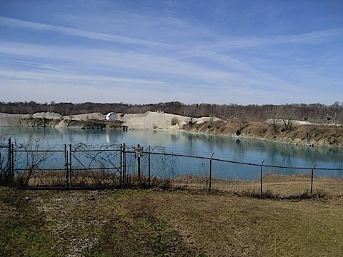 Limestone Quarry at George Obear Park