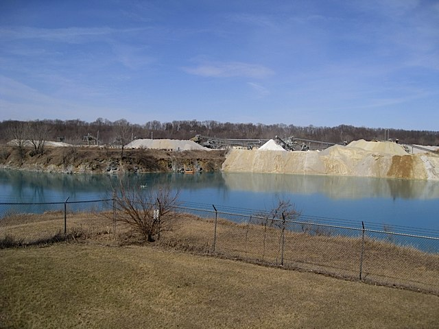 Quarry at George Obear Overlook Park