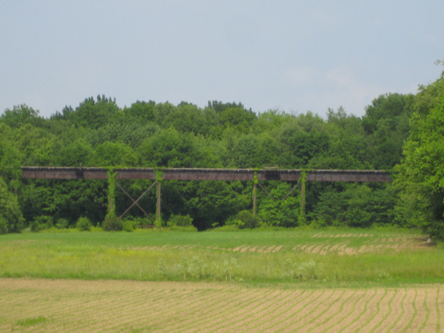 Owasco Monon Trestle over Wildcat Creek in Carroll County Indiana