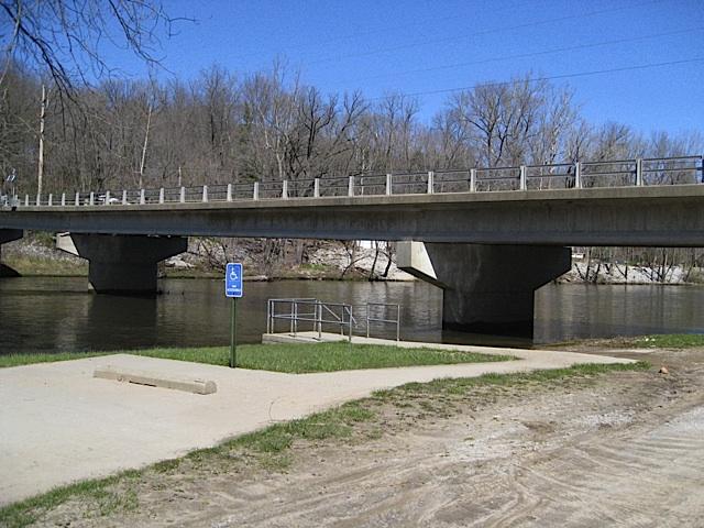 Oakdale Ramp in Carroll County Indiana