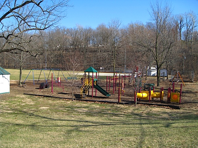 Playground at Riley Park in the City of Delphi