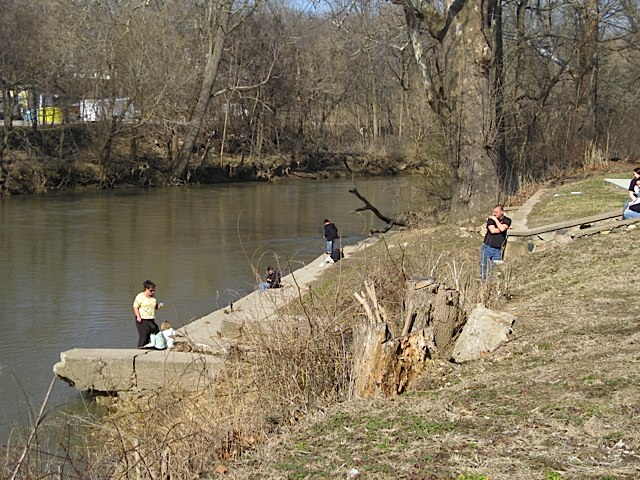 Fishing at Riley Park in Carroll County