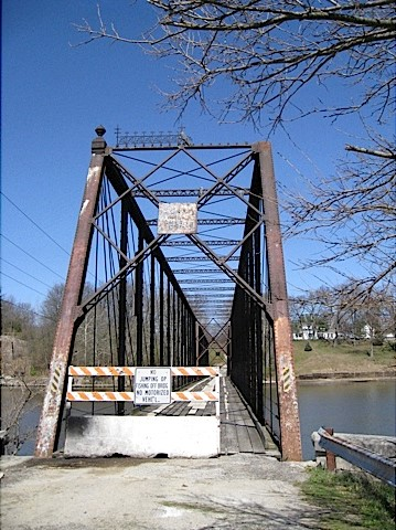 Tioga Bridge in Carroll County Indiana