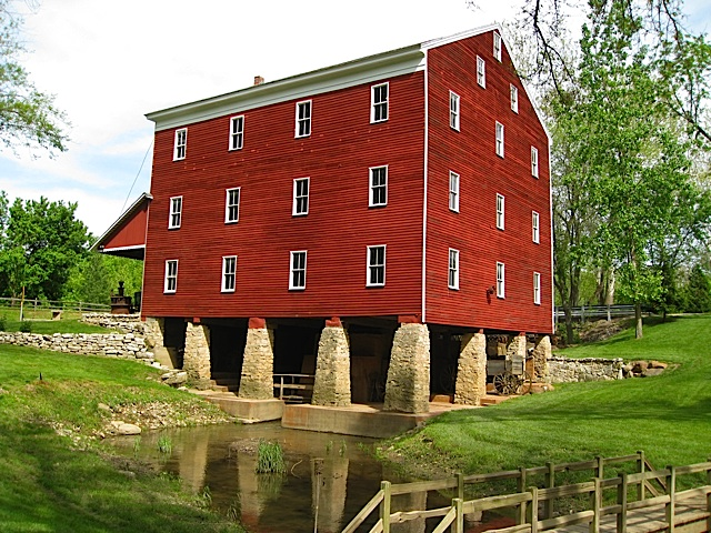 Adams Mill Museum in Carroll County Indiana
