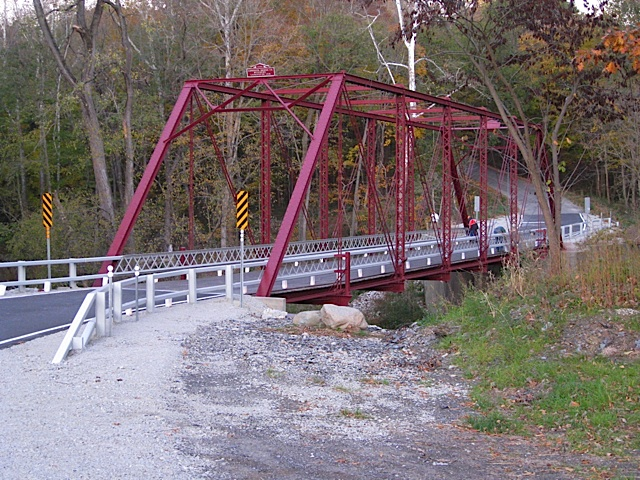 Wilson's Bridge over Deer Creek in Carroll County Indiana
