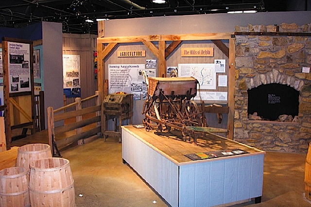 Wabash & Erie Canal Interpretive Center in Carroll County Indiana
