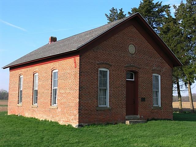 Martin Schoolhouse Isometric in Carroll County